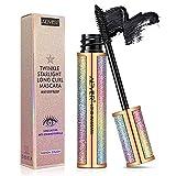 Bestidy Fiber Lash Mascara,Waterproof Mascara,Natural Thick Thickening and Lengthening Mascara Lasting All Day
