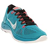 Nike Womens Lunar Glide+5 Tropical Tea/Black/Atomic Red/White 599395-310 6