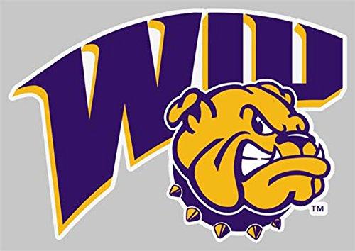 Western Illiinois Leathernecks 4 X 4 Square Decal - Purple - Western Illinois Leathernecks Car