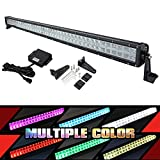 "New 50"" RGB LED Light Bar,Multi-Color Combo Lamp Neon Light By Bluetooth APP for Offroad 4x4 Jeep Truck ATV SUV Boat with Control Box"