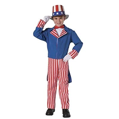 Rubie's Costume Co Uncle Sam Costume: Toys & Games