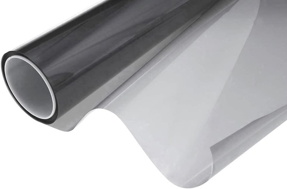 "Tview T2BK0540 40"" x 100' Roll of 5% Window Tint"