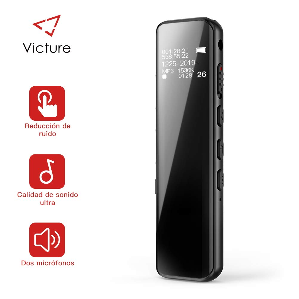 Grabadora de voz (8 GB)