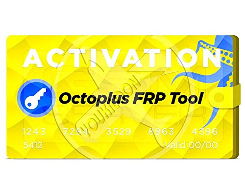 Quality for Samsung, Huawei, LG, Alcatel, Motorola phones Octoplus FRP Tool  Activation