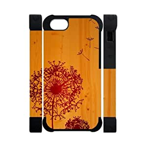 Canting_Good,Dandelion, Custom Cases for iPhone 5C TPU (Laser Technology)