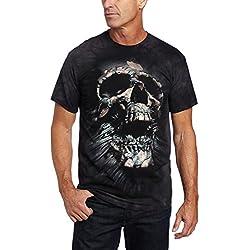 The Mountain Men's Breakthrough Skull T-shirt, Black, Medium