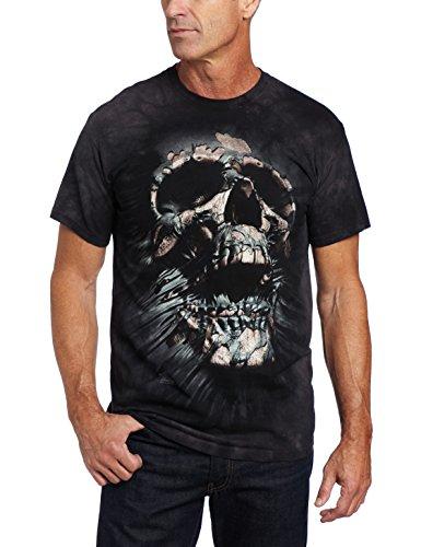 The Mountain Men's Breakthrough Skull T-shirt, Black, X-Large (T-shirt Skull)