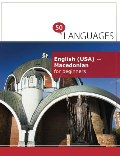 English (USA) - Macedonian for beginners: A book in 2 languages (Multilingual Edition)