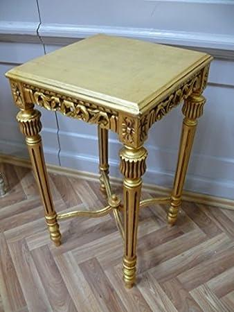 Tavolino quadrato da tavolo antico stile barocco alta0 332goqi stile ...