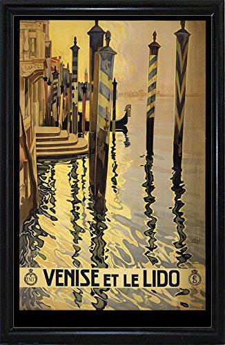 Venise Di Lido-VINAPP121073 Framed Print 20
