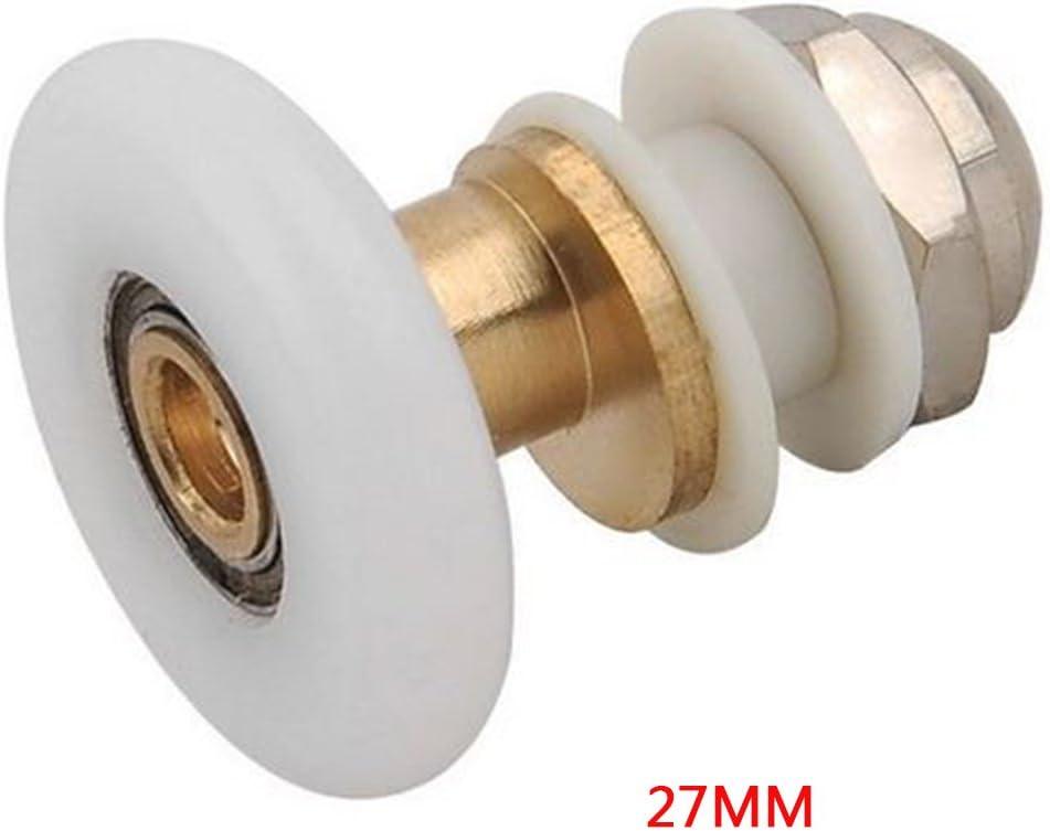 SADA72 Rodillos para Puerta de Ducha, Ruedas de Repuesto para mamparas de Ducha, cabinas de Ducha y cabinas de Vapor, 25mm, 25 mm: Amazon.es: Hogar