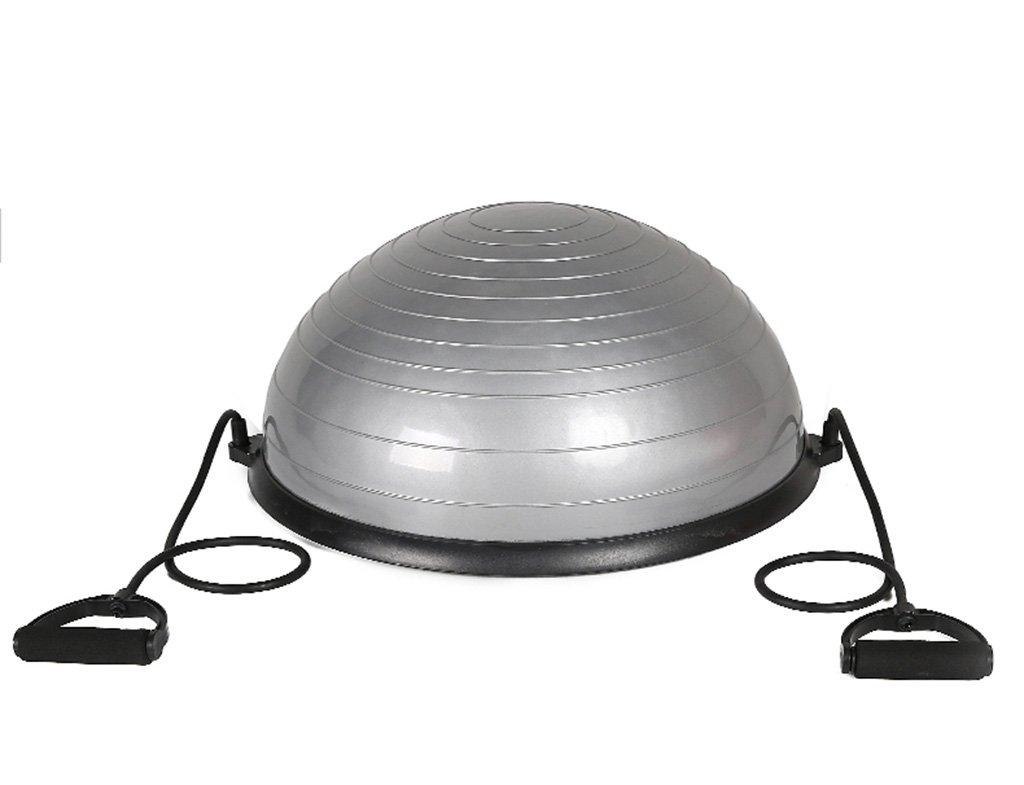 HCJYJQ GUORONG Yogaball, Halbkreisball Yoga Balanceball Yoga Halbkreisball Wellengeschwindigkeitsball Rutschfest Schwangere Frau Pilates Yoga-Ball (Farbe :  3) fb8a9e