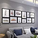 WUXK Large size photo wall minimalist modern children's room creative photo frame wall photo wall combination living room Bedroom 4