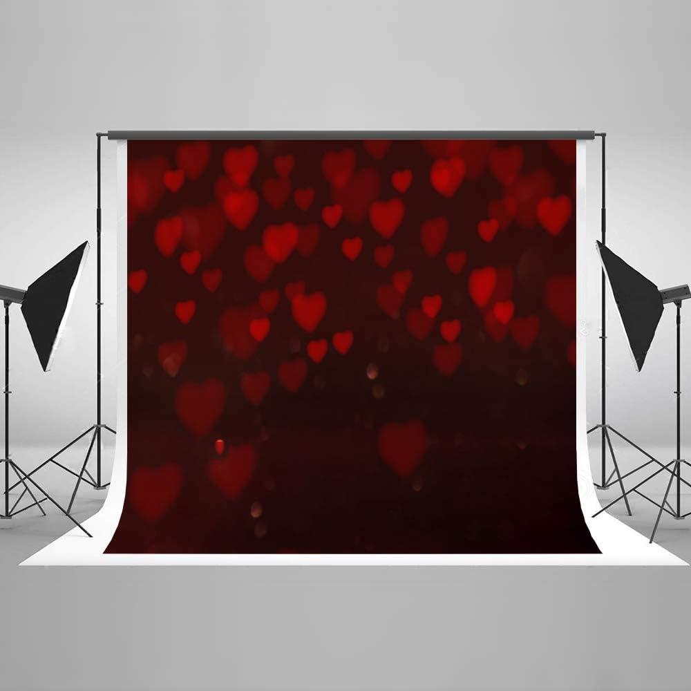 KateHome PHOTOSTUDIOS 3x2m Fondos Rojos de día de San Valentín ...