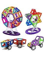 Mag Genius - Magnetic Building Blocks Building Educational Building Plastic Brick Magnet Toys for Children Magnetic Designer Set