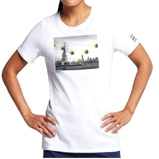 b4c16dfec Nike US Open NIKECOURT New York City TEE T-Shirt (Women's Large ...