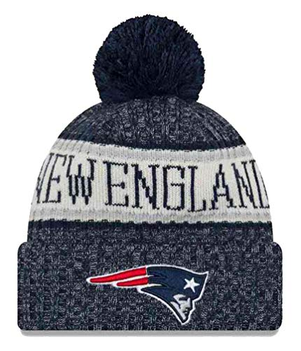 61a8ea9f612 New England Patriots Pom Hat