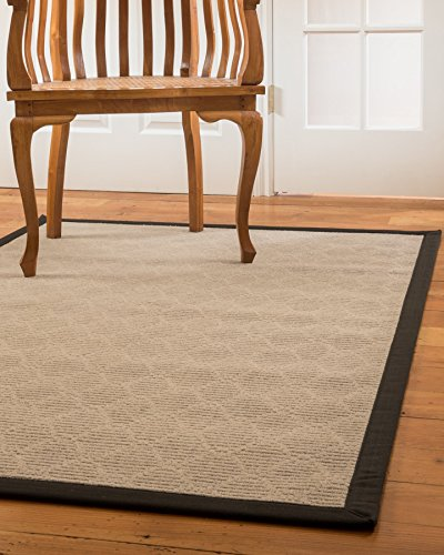NaturalAreaRugs Lancer Collection Area Rug, Handmade, 100% Wool, Jute Backing, Durable, Elegant, Soft, Stain Resistant, Eco/Environment-Friendly, (4 F…