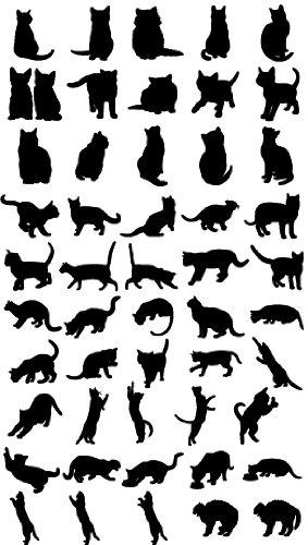Amazon 商用okドッグキャットシルエット340種類以上の犬猫の