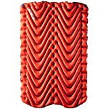Klymit Double Person KLYMIT V Sleeping Pad 2 Wide 47 inches Lightweight Comfort Car Camping Two Tents Air mattress