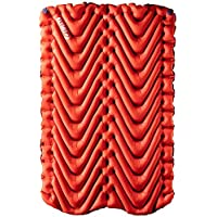 KLYMIT Double V Sleeping Pad, 2 Person, Double Wide (47 inches), Lightweight Comfort for Car Camping, Two Person Tents…