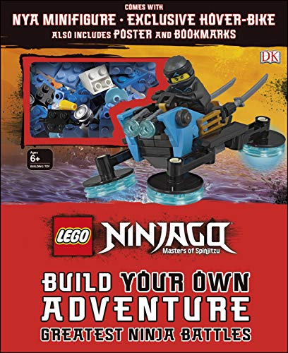 LEGO NINJAGO Build Your Own Adventure Greatest Ninja Battles: with minifigure and exclusive (Exclusive Battle Pack)