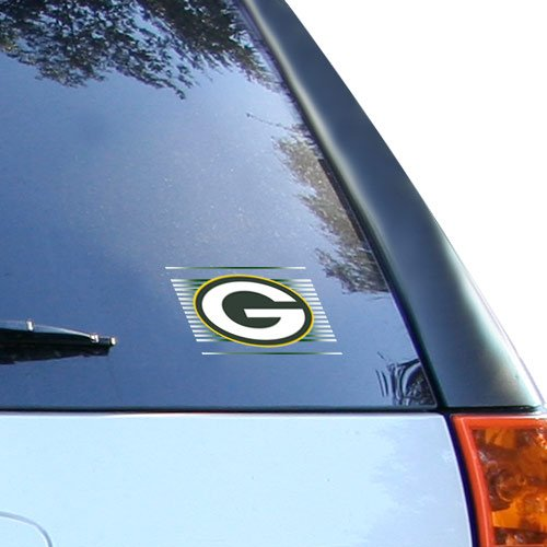(WinCraft NFL Green Bay Packers Static Cling Decal, 3