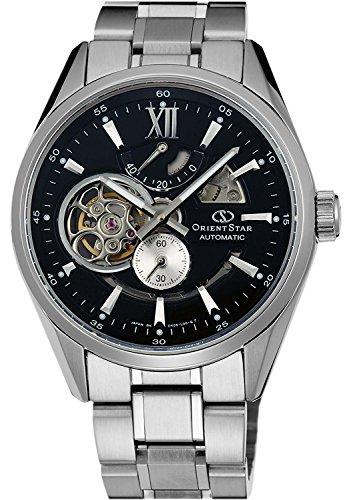 ORIENT watch ORIENTSTAR Orient Star modern skeleton mechanical automatic winding black WZ0181DK Men