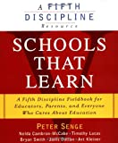 Schools That Learn, Peter M. Senge and Nelda H. Cambron-McCabe, 0385493231