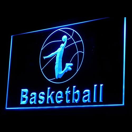 230016 Basketball Regulation Preseason Court Jumpshot Display LED Light Sign