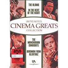 United Artists Cinema Greats Collection (The Alamo / In The Heat of the Night / The Manchurian Candidate / Birdman from Alcatraz) by United Artists / Sunset Home Visual Entertainment
