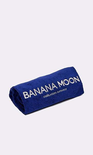Toalla de playa Banana Moon Plain Towely Azul: Amazon.es: Ropa y accesorios