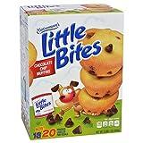 Entenmann's Little Bites Muffins 20 Pouches/80 Muffins Bonus 1 Individual Entenmann's Apple Pie (Chocolate Chip)