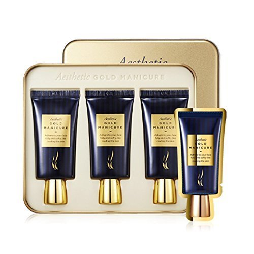 AHC Aesthetic Gold Manicure Mask 24K Gift Set (30mlx3) - ...