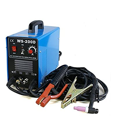 Smartxchoices 2in1 DC Inverter Welder TIG MMA ARC Welding Machine TIG Dual Votage 110&220V