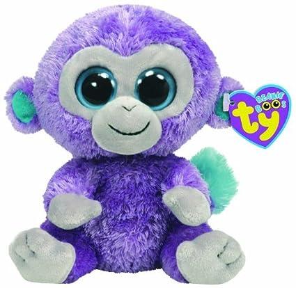 7a72aaf4fce Amazon.com  TY Beanie Boo Plush - Blueberry 15cm (Rare Retired) by Ty Beanie  Boos  Toys   Games