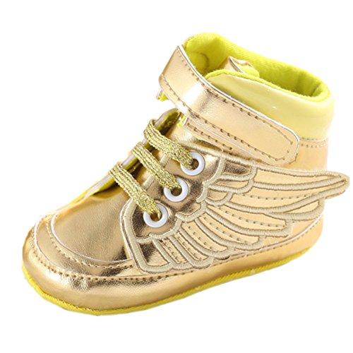 frontonline-kids-girls-angel-wings-pu-leather-soft-sole-prewalker-sneaker-shoes