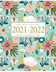 Academic Planner (2021-2022 Mint Floral)