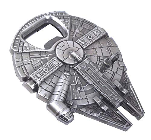 Rebel Alliance Star Wars Millenium Falcon Metal Bottle Opener