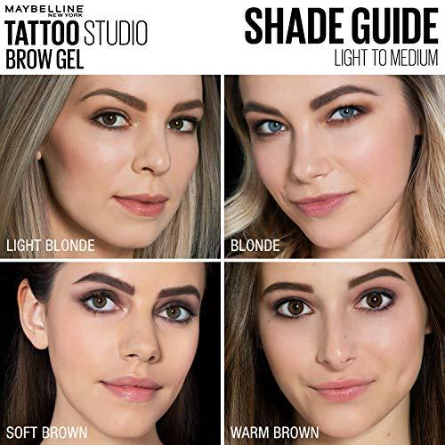 Deep Brown Maybelline Makeup Tattoostudio Waterproof Eyebrow Gel