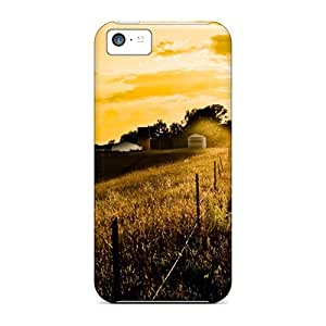 Awesome Fall Is Fading Flip Case With Fashion Design For Iphone 5c
