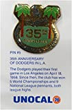1 Pin - 35th Anniversary Logo - Los Angeles Dodgers Unocal 76 Pin Brand New
