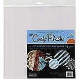 """Grafix Craft Plastic Sheets 12""""X12"""" 4/Pkg-Clear .007"""