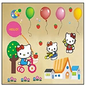 Hello Kitty Wall Stickers Part 91