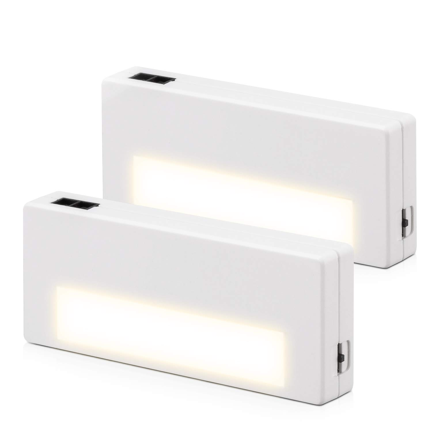 Mini Rechargeable Drawer Lights with Ultra-Long-Endurance Battery, Designed for Drawers, Cabinets, Storage Boxes (2 Pack)