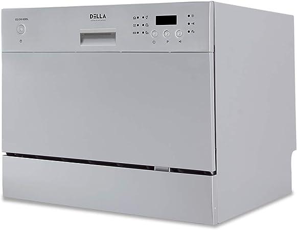 Amazon.com: Della encimera compacta lavavajillas portátil ...