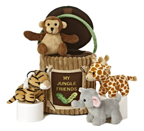 Aurora World Baby Talk Carrier, My Jungle Friends Playset