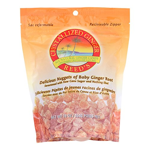 Reed's Ginger Beer Crystallized Ginger - Original - Case of 6 - 16 oz. by Reed'S Ginger Beer