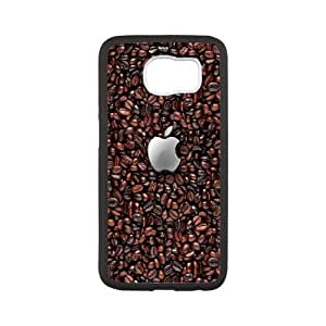 Samsung Galaxy S6 Cell Phone Case Black Apple 6 K8R8SB