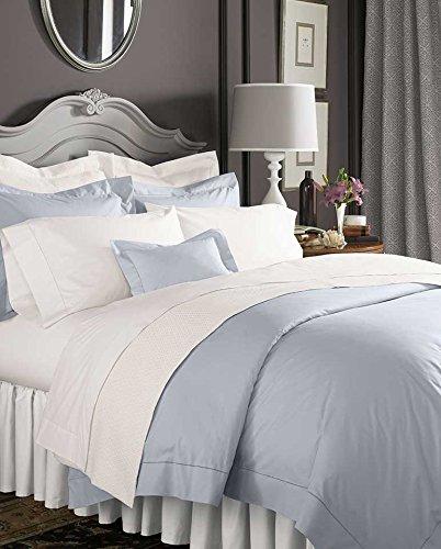 Celeste Linens by SFERRA, King Fitted Sheet, - Sferra Luxury Celeste Bedding